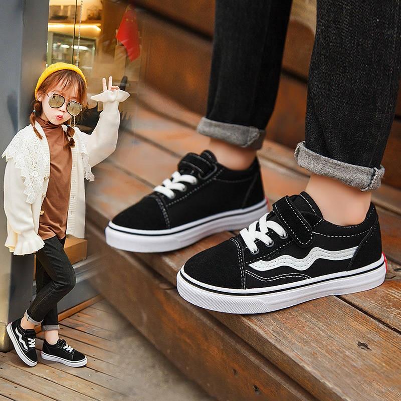 新款休闲中大童男童板鞋小白鞋百搭潮2020儿童运动鞋女童鞋子
