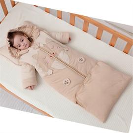 婴儿睡袋秋冬加厚宝宝纯棉冬季厚款中大童加长防踢被春秋婴幼儿