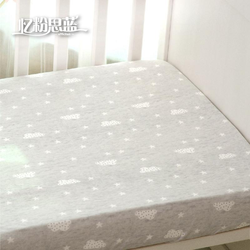 澳棉婴儿床笠a类针织棉儿童床单质量好不好