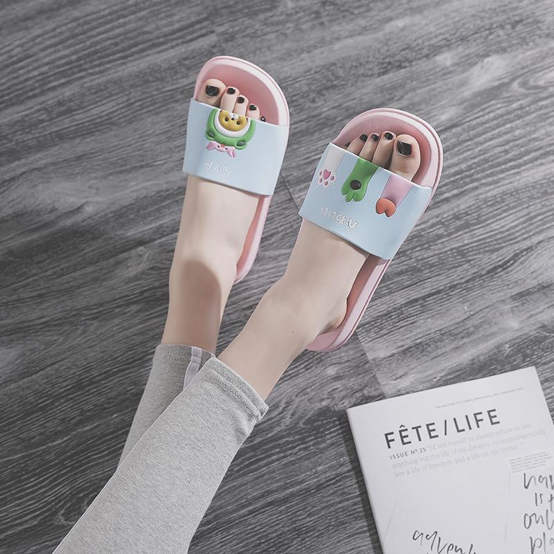 女夏2020新款防滑外穿可爱凉拖鞋质量好不好