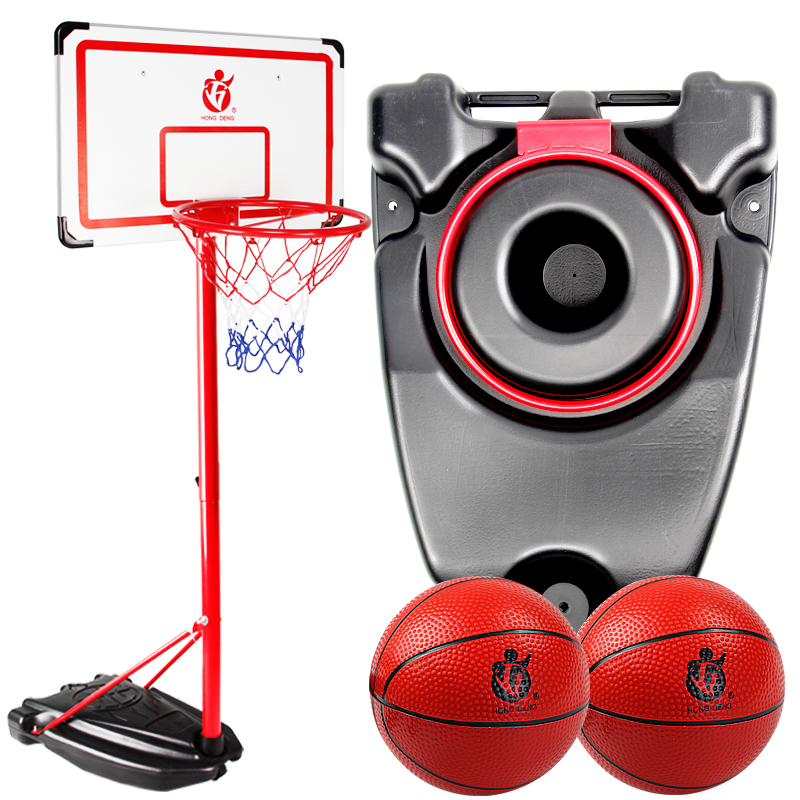 Hongdeng Junior Basketball Frame Children's Outdoor Boys Shooting Blue Frame Can Lift the 10-year-old Shooting Frame of Indoor Toys