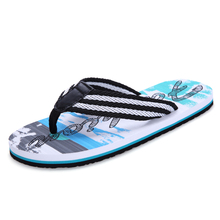 Men's flip-flops summer skid-proof outdoor sandals sandals men's fashion leisure beach trend Korean version slippers