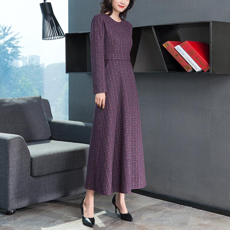 显瘦长裙连衣裙