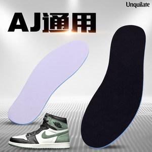 AJ11鞋垫大魔王JordanAJ5白水泥男女康扣正品aj4原装运动篮球鞋垫