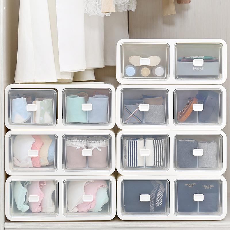 内衣文胸内裤袜子分格透明收纳盒10月20日最新优惠