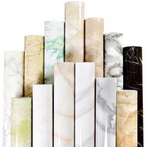 厨房防水防油烟贴纸大理石餐桌子卫生间灶台面耐高温家具保护贴膜