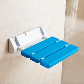 浴室折叠座椅淋浴凳墙壁洗澡椅子老人挂壁式安全防滑无障碍扶手凳图片