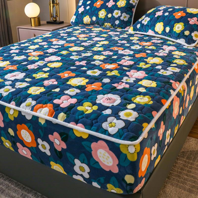珊瑚绒单件防滑固定床垫套加厚床罩怎么样