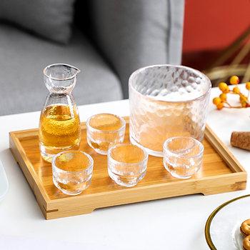 白酒杯家用小号日式酒具套装