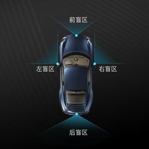 全景摄像头360汽车高清左右前轮车用摄像头360度侧视盲区辅助系统