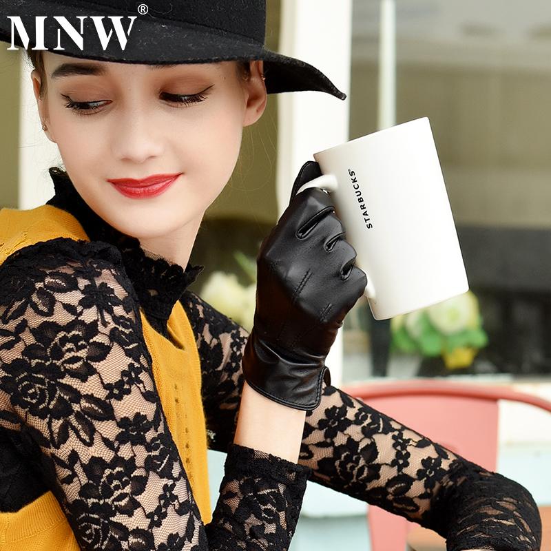 Женские перчатки с мехом Артикул 41847613717