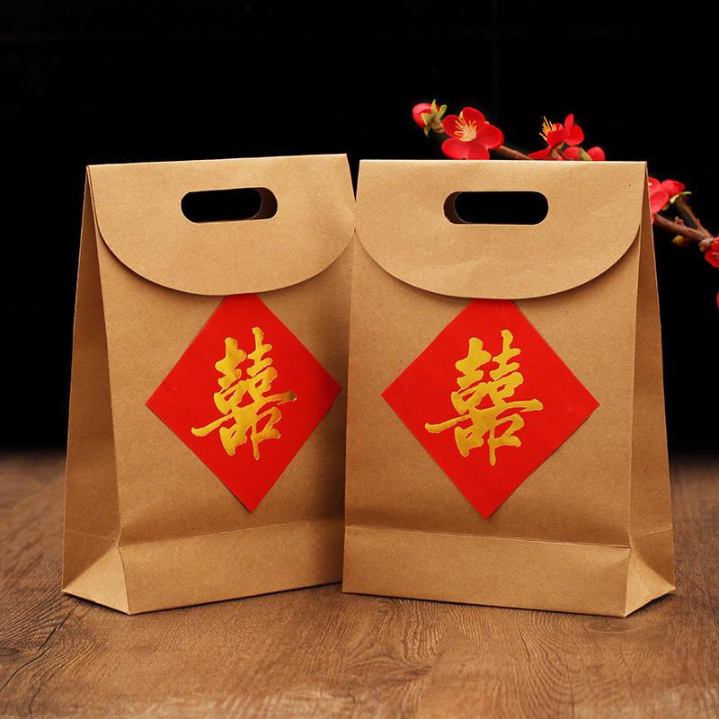 券后1.56元中式喜糖盒子结婚创意复古回礼纸袋