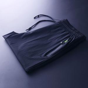 冰丝运动裤男士夏季超薄冰凉宽松弹力空调长裤小脚收口速干休闲裤