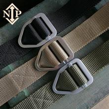 軍迷皮帶內腰帶特種兵迷彩作訓服執政官帆布尼龍戰術腰帶 NIP男士
