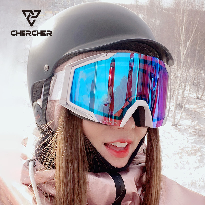 Chercher tiedou same ski goggles double cylindrical high definition anti fog ski goggles CS2 for men and women