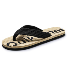 Slippers, men's summer Korean trend, antiskid clip on flip flops, 2020, new fashion, personalized men's beach shoes