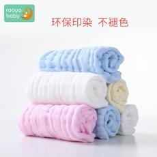 纯棉纱布毛巾婴儿洗脸巾