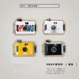 SNAP研究所非一次性复古防水傻瓜胶片相机学生生日礼物单机无胶卷图片
