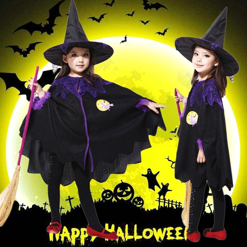 Fairy Tale Drama autumn costume magic Boy Halloween childrens costume parents and children show model Party Costume New Style