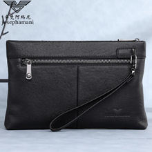 Zhuofani leather handbag men's fashion new men's soft leather handbag