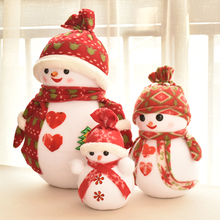Christmas decorations, snowman doll decorations, scenes, window displays, props, Christmas tree