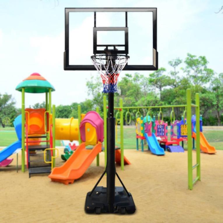Adult household basketball shooting frame mobile professional youth vertical box shooting simple dunking rebounds