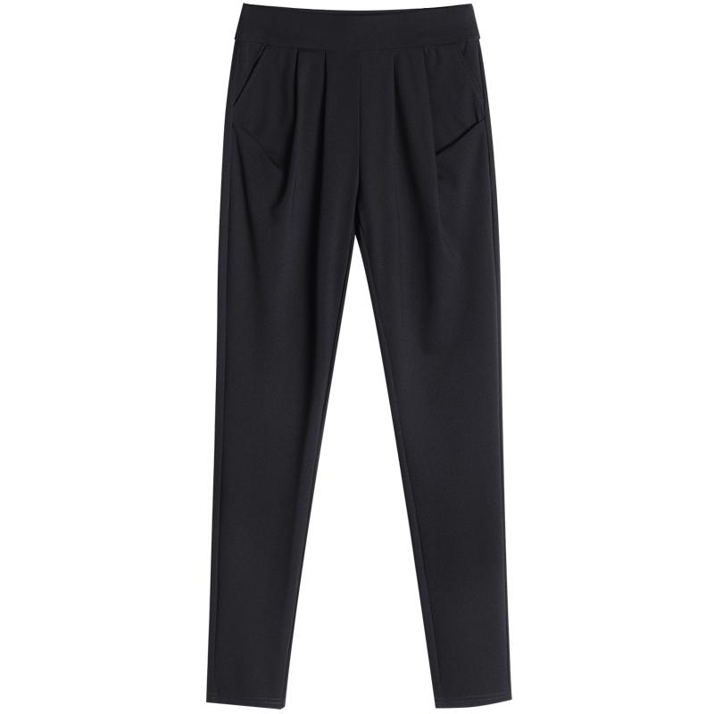 女裤春季2021新款宽松小脚哈伦裤质量好不好
