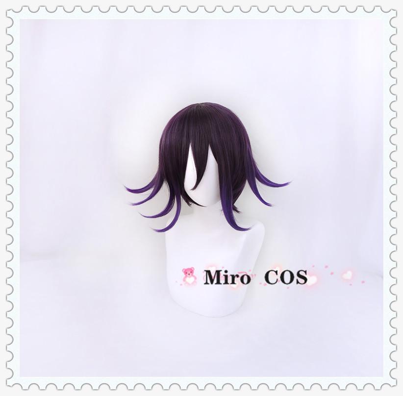 新弹丸论破V3 王马小吉 渐变造型反翘 cosplay假发 包邮 MiroCOS