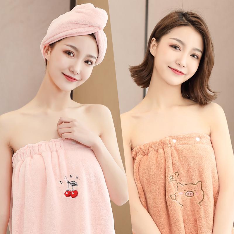 女可穿可裹巾毛巾三件套家用比浴巾质量怎么样