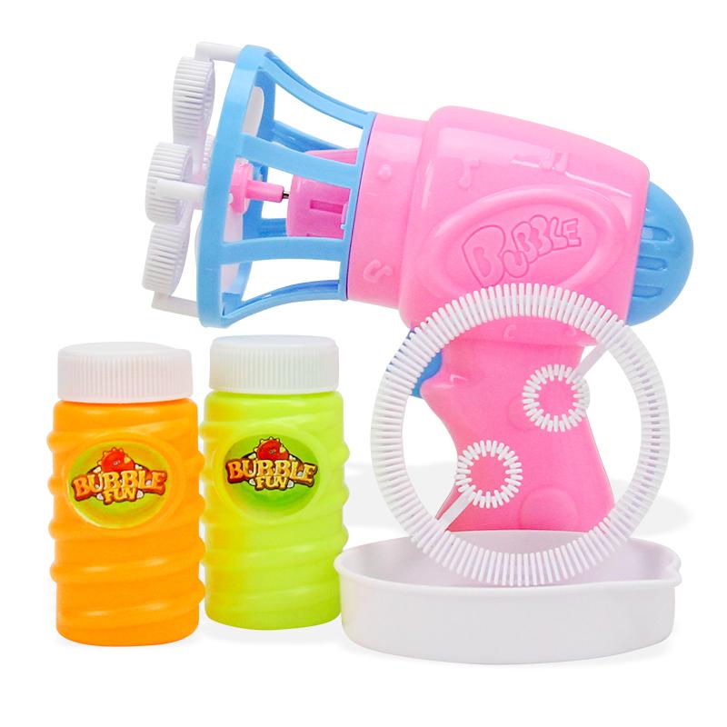 儿童电动泡泡机吹泡泡全自动安全无毒泡泡水补充液泡泡枪吹气泡