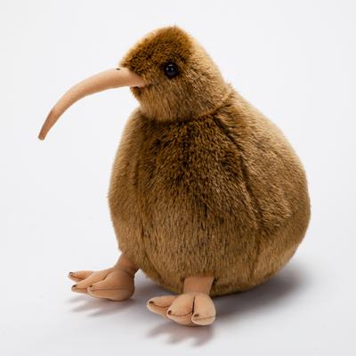 仿真奇异鸟公仔 新西兰国鸟几维鸟KIWI毛绒玩具可爱小鸟布艺玩偶