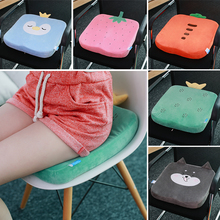 Thickened cushion office long-sitting memory cotton cushion chair stool cushion ass cushion classroom breathable student chair cushion