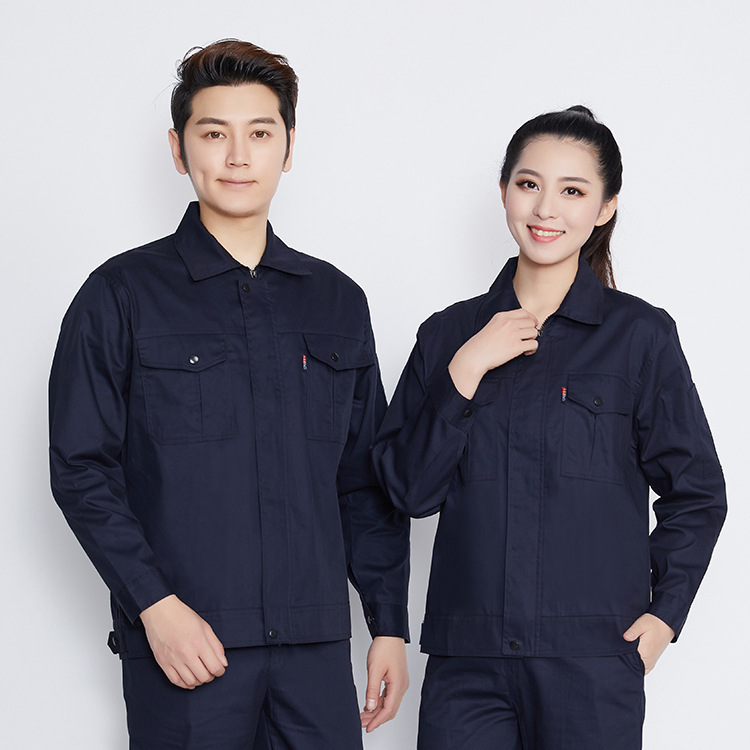 Summer thin long sleeve car maintenance clothes car wash shop uniform road and Bridge Construction Engineering clothes supervision work clothes electrician