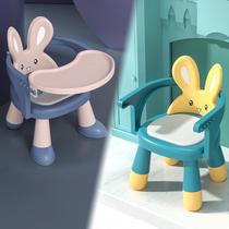雅亲宝宝凳子靠背椅婴儿幼儿吃饭叫叫小餐椅座椅家用儿童板凳一岁