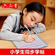 1-6年级小学生同步字帖练字本每日一练一年级二年级三四五六楷书贴神器正楷人教版初学者速成21天汉字儿童板2