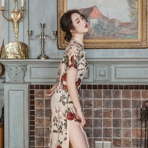 麓津自制《红妆》年轻款少女连衣裙