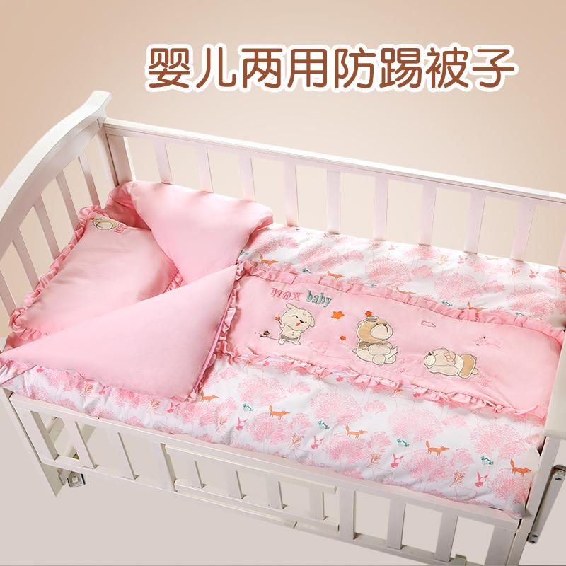 婴儿睡袋秋儿童防踢被神器宝宝新生儿秋冬款纯棉春秋四季通用被子