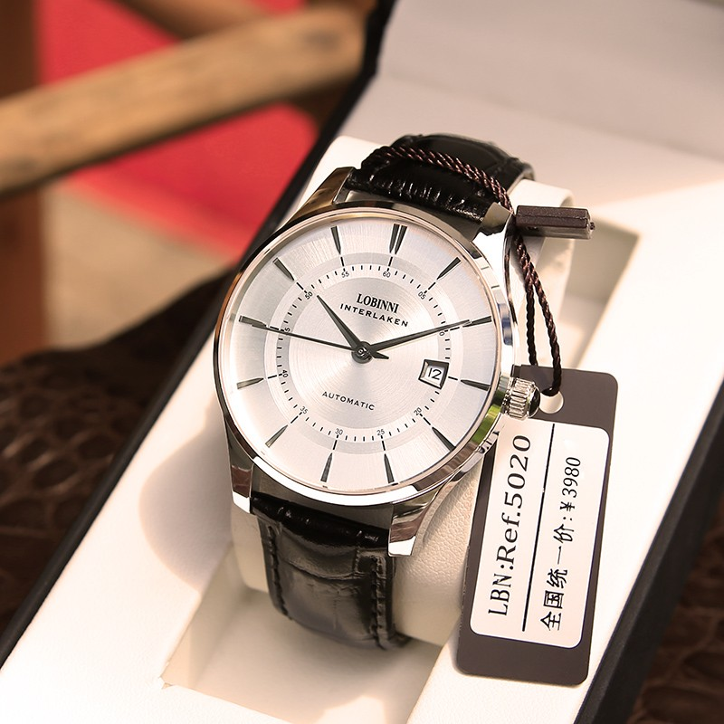 Robini watch men's mechanical watch fully automatic 2020 new men's fashion watch brand name authentic waterproof men's Watch