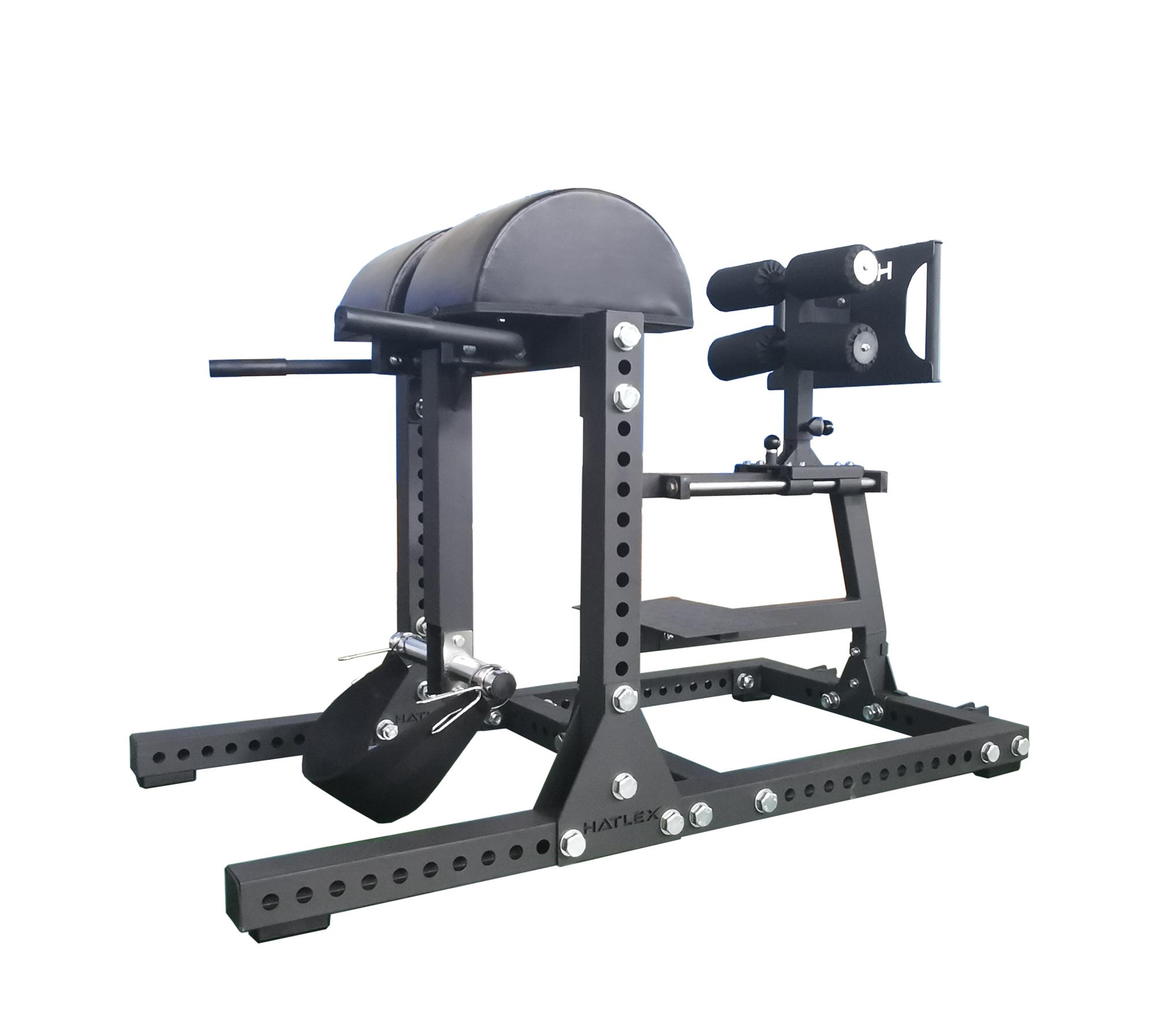 重型腹背训练器 罗马椅 山羊挺身 GHD 俯卧反向抬腿 屈腿臀训练器
