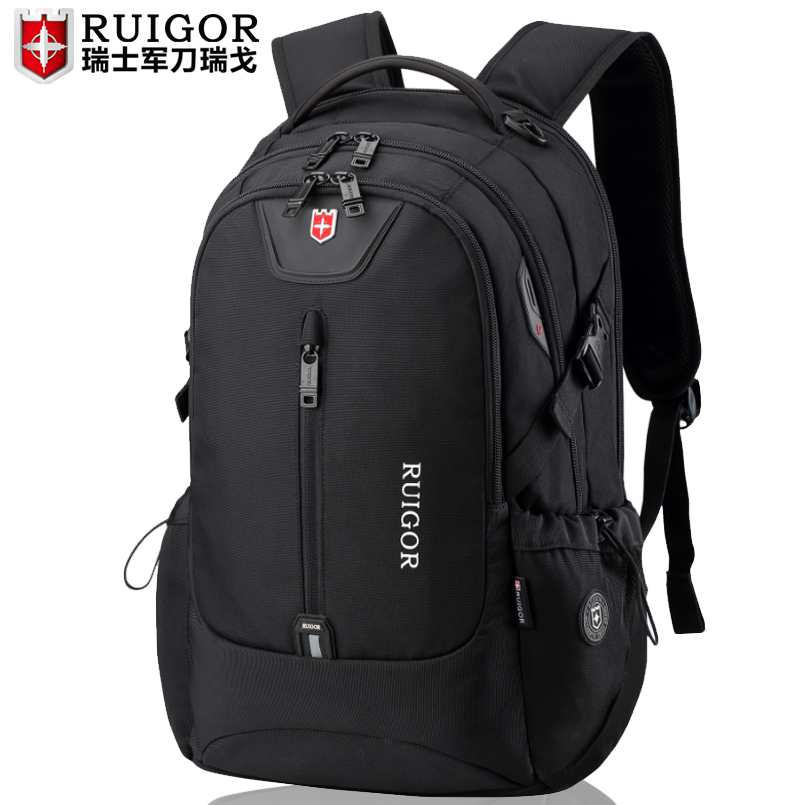 Swiss Army knife backpack for men leisure large capacity business computer backpack for women travel bag for middle school students book bag trend