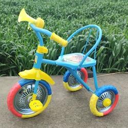 溜娃神器儿童三轮车可带人日式便捷小女孩加厚童车脚踏婴儿童小孩