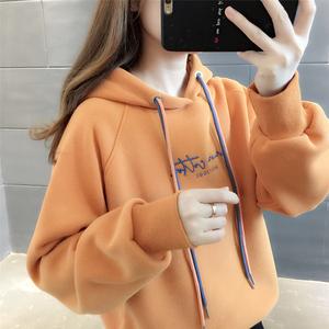 连帽2021年秋季新款韩版宽松卫衣
