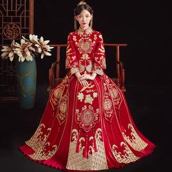 秀禾服新娘2020新款中式秀结婚礼服