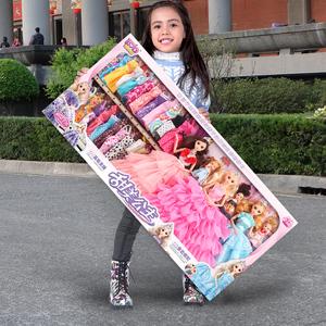 嘿喽芭比洋娃娃2020新款女孩玩具