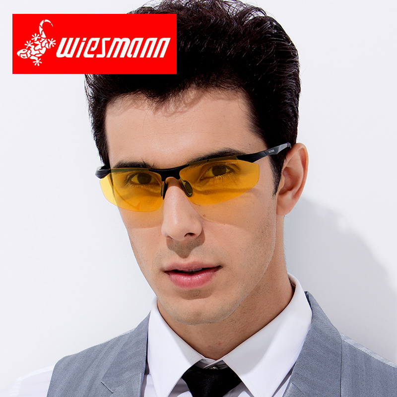 Weizman drivers mirror day and night driving glasses mens Sunglasses drivers night vision glasses