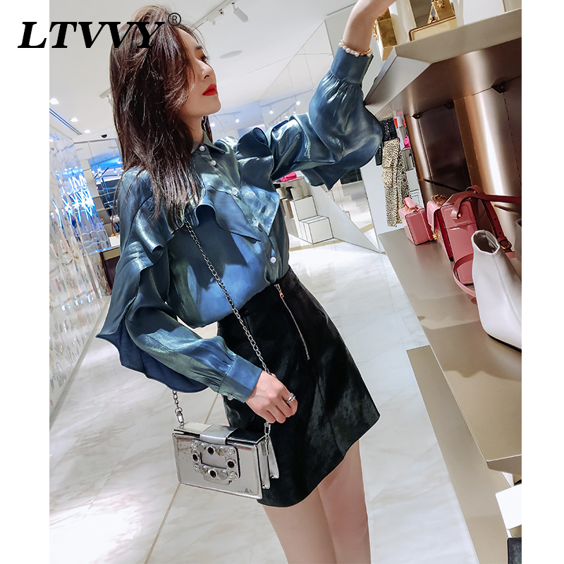 Black foreign style leather skirt spring and summer new Korean version sexy buttock slim short skirt