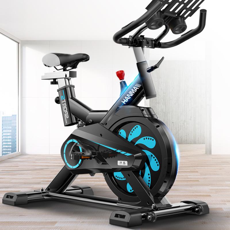 汗马动感单车家用室内健身车健身房专用器材减脂器脚踏运动自行车