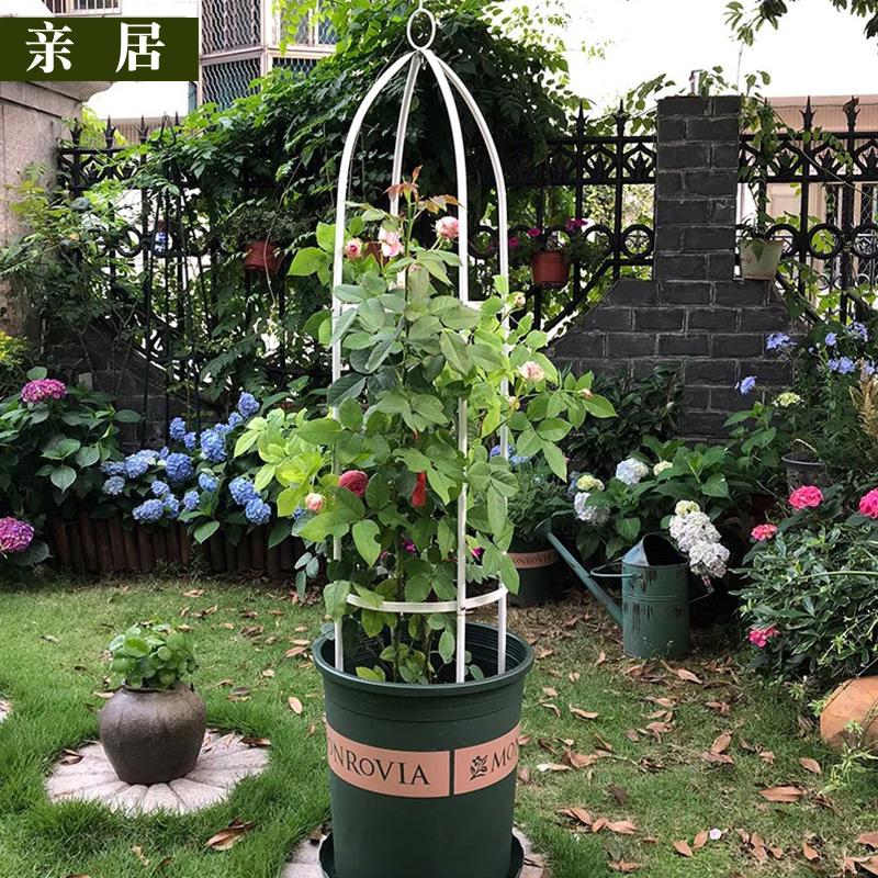 立柱爬藤架园艺支架攀爬架铁艺花架好不好用