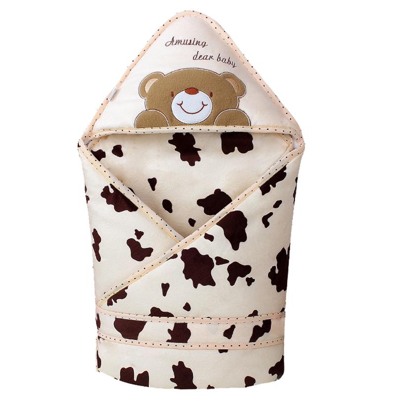 嬰兒抱被新生兒純棉加厚包被春秋 抱毯可脫膽繈褓包巾寶寶用品