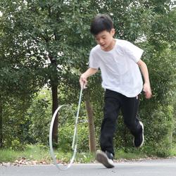 铁环滚铁圈儿童幼儿园玩户外学生手推风火轮80后怀旧圆形具滚圈圈
